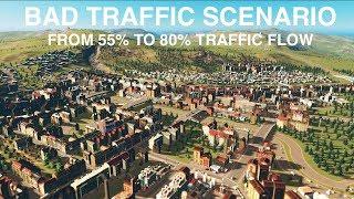 I BEAT THE BAD TRAFFIC SCENARIO | Cities:Skylines | Part 2.
