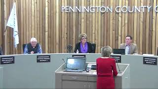3-6-2018 Pennington County Board of Commissioners Meeting