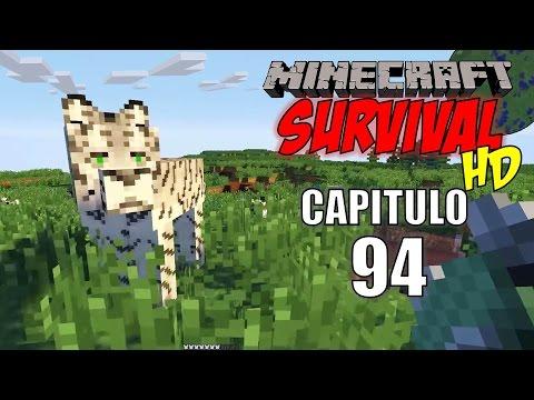 Minecraft: Survival HD Capitulo 94, En busca del Tigre Blanco.