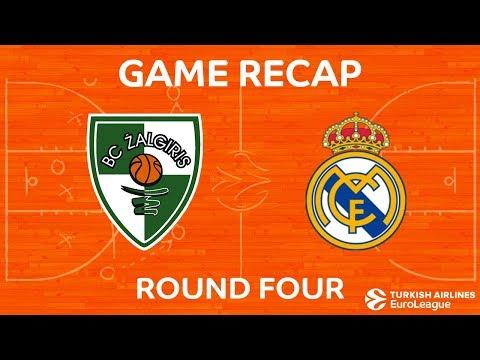 Highlights: Zalgiris Kaunas - Real Madrid