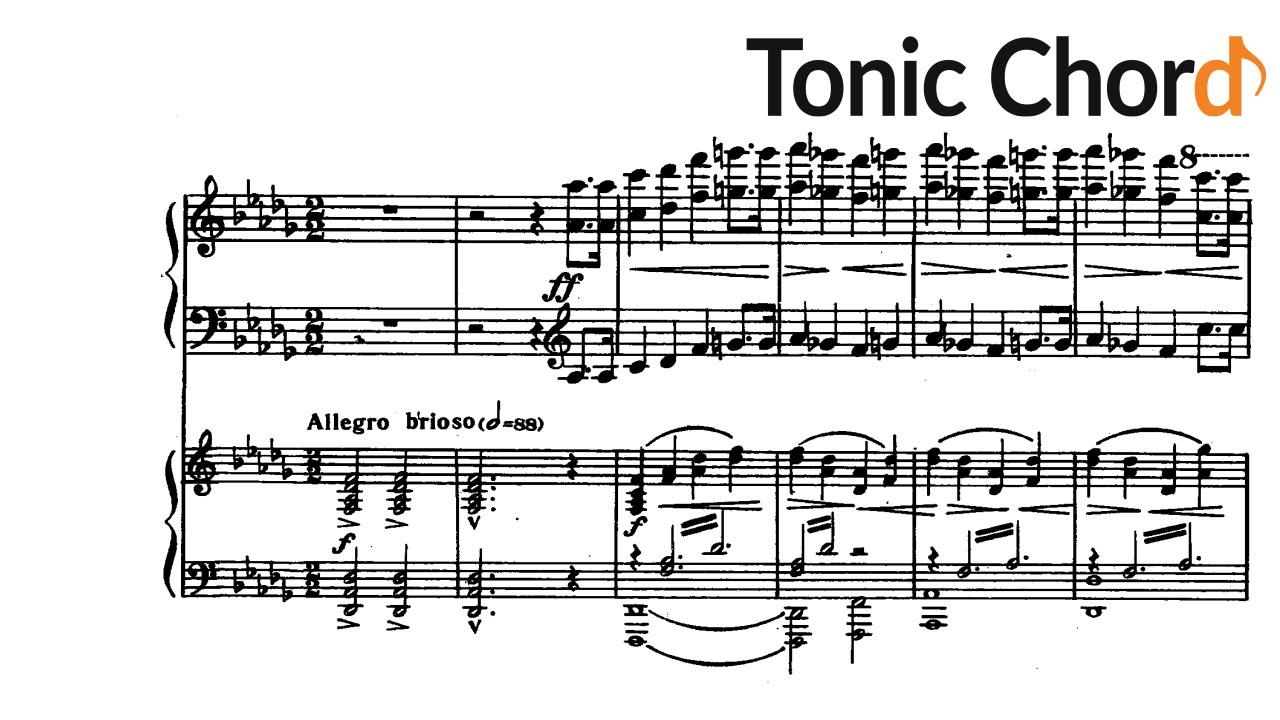 Prokofiev piano concerto no1 in d flat major op10 prokofiev piano concerto no1 in d flat major op10 accompaniment tonic chord hexwebz Gallery