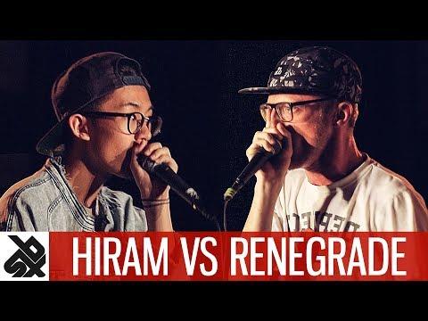 HIRAM vs RENEGRADE | WBC Solo Battle | 1/4 Final