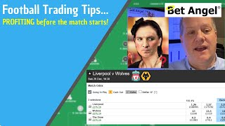 Football betting tips | Profiting from football matches before they even start!