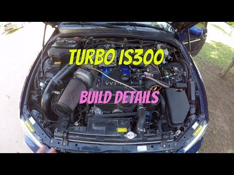 Lexus IS300 Turbo Set Up Review  2JZGE NA/T  High 400 hp  Stock