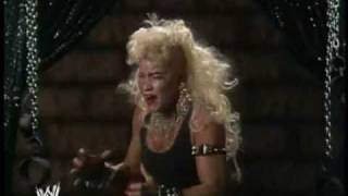 Luna Vachon cuts the most metal promo in history!!!