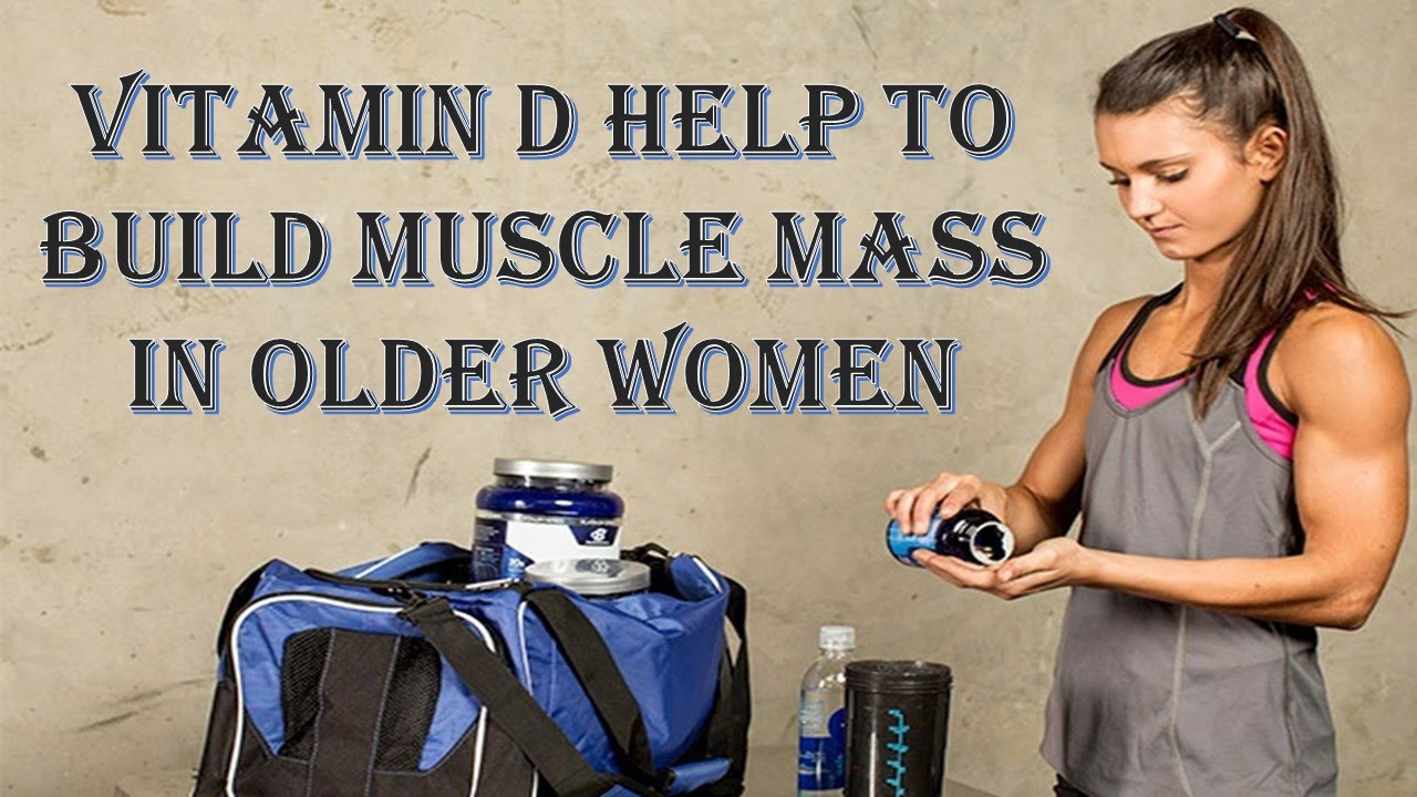 Image result for muscled woman taking vitamin d