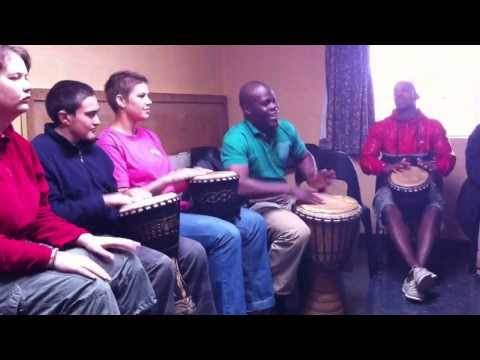 Unique Missions- Drum Ministry at the Rehabilitation Center in Worcester.