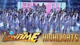 "It's Showtime: MNL48 performs the Tagalized version of AKB48's ""Sakura"" AKB48 検索動画 4"