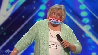 Americas Got Talent 2016 Julia Scotti Geriatric Comic w/ A Surprise Full Audition Clip S11E04
