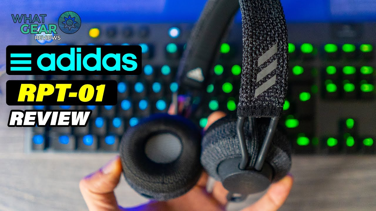 sombra Rama marrón  Adidas RPT-01 | On-ear Sports Headphones Over Ear - YouTube