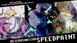 Determination - Undertale - Speedpaint