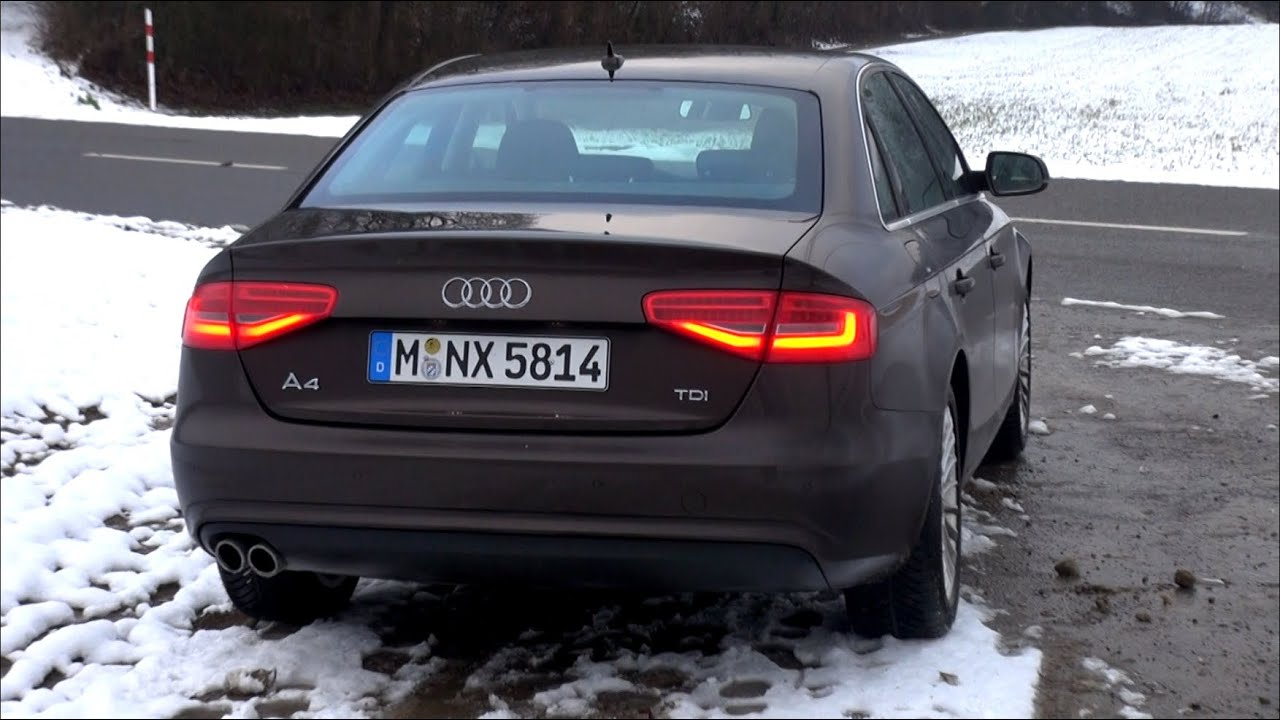 2015 audi a4 2 0 tdi 150 hp test drive youtube. Black Bedroom Furniture Sets. Home Design Ideas