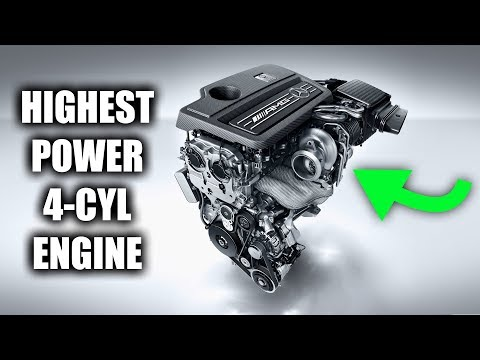 How Mercedes Made The Most Powerful 4-Cylinder Engine In The World