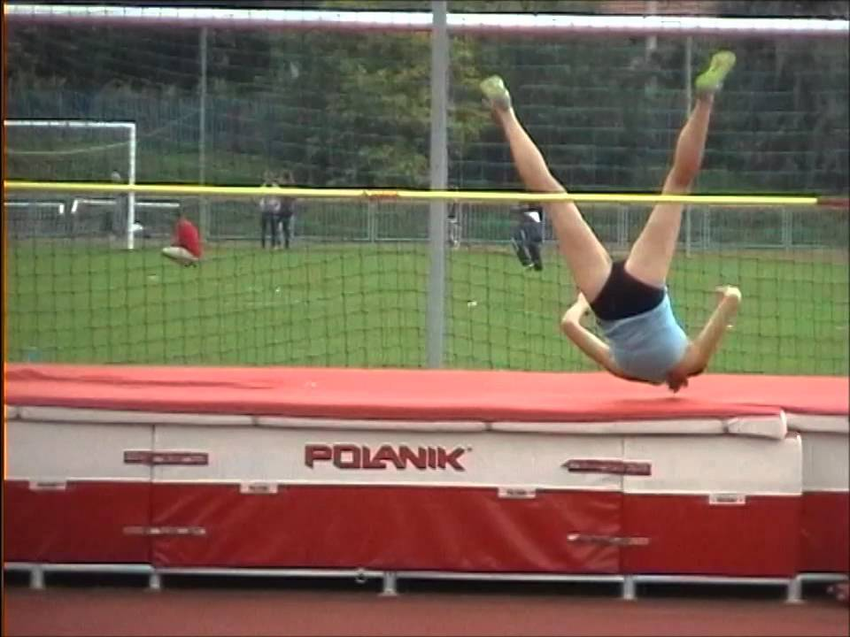 Women's High Jump Best Moments Slow Motion - YouTube
