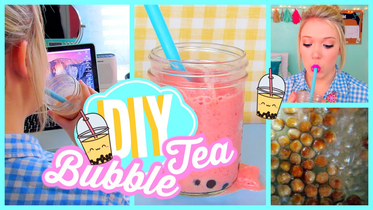 Diy Bubble Tea
