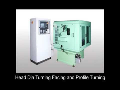 Head Dia Turning Facing and Profile Turning Machine