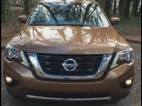 Новый Nissan Pathfinder 2017  Ниссан Патфайндер 2017