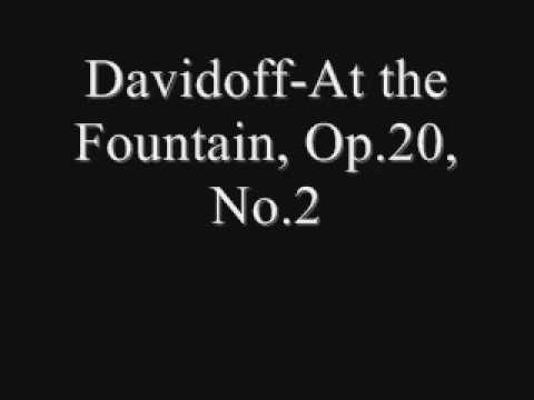 Davidoff At The Fountain Op 20 No 2 Vytautas Sondecki Cello Youtube