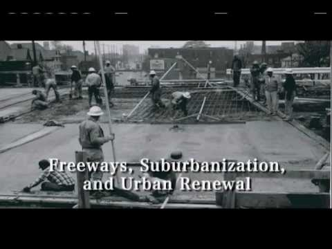 Short North, Freeways, Suburbanization and Urban Renewal