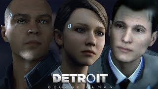 Detroit Become Human геймплей