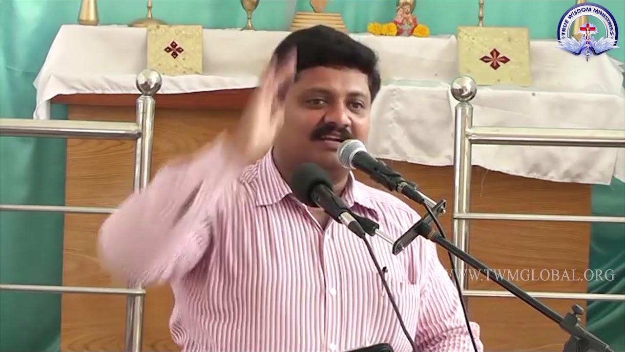 Bro R Vamsi short message True wisdom ministries