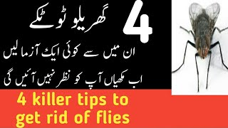 how to get rid of flies in the house in urdu 2018 |  مکھیوں سے نجات کا انوکھا طریقہ ...| ik official
