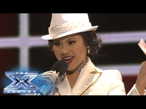 Ellona Santiago Knows Best  THE X FACTOR USA 2013