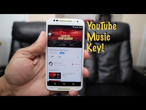 YouTube Music Key Beta Impressions (2015)