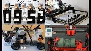 TOP 10 LEGO Machines Creations