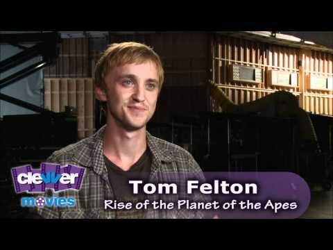 Tom Felton 'Rise of the Planet of the Apes' Interview