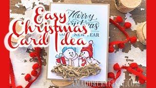 Easy Christmas Card Ideas