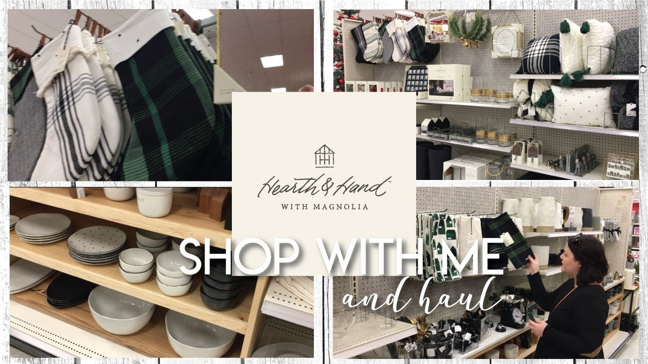 magnolia target hearth and hand shop with me and haul fixer upper the hebert house youtube. Black Bedroom Furniture Sets. Home Design Ideas