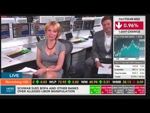 carolyne hyde - Bloomberg TV (walk & chocolate)
