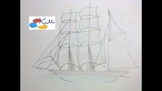 Казка Летючий Корабель та уроки малювання на каналі #КазочкиМалюночки