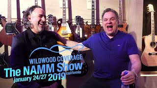 Jeff Garlin Sits Down with New Gibson CEO JC Curleigh - NAMM 2019