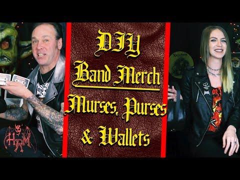 DIY Band Merch: Heavy Metal Murses, Purses and Wallets