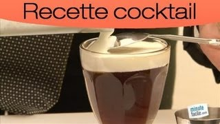 Cocktail : faire un irish coffe