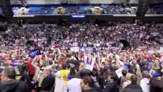 Massive crowd at Pennsylvania Trump rally chanting CNN SUCKS!