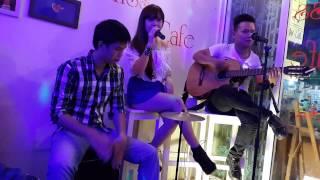 Acoustic Cover Anh muốn em sống sao - Hương katy