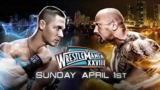 WWE WrestleMania 28 promo John Cena.русс,озв от 545TV