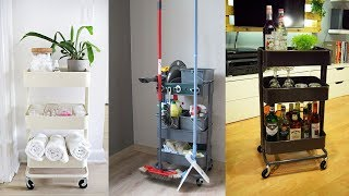 30 IKEA Raskog Cart Ideas and Hacks For Home Storage