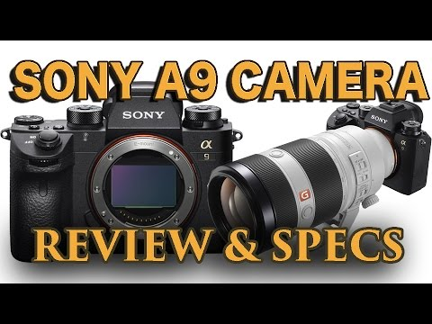 SONY A9 CAMERA - REVIEW & SPECS