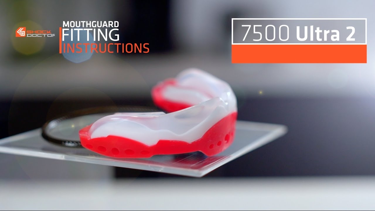Shock doctor | ultra 2 mouthguard fitting video youtube.