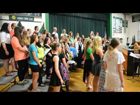 """Woodsville High School [Concert Choir] Performs """"Give Us Hope"""""""