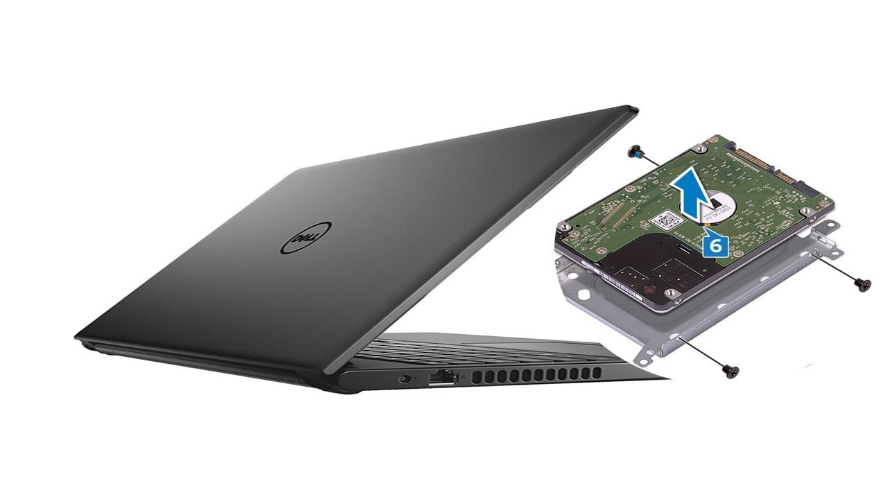 Dell Inspiron 15 3573 - Hard Drive replacement - Laptop repair