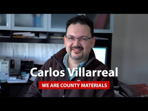 We Are County Materials - Carlos Villarreal