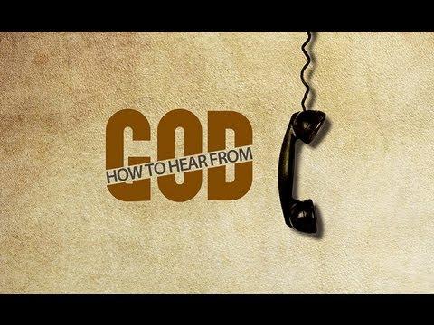 How To Hear From God - Pastor Steve McKinney
