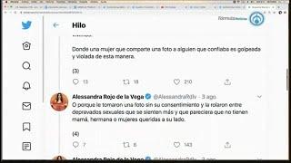 """Diputada Alessandra Rojo de la Vega denuncia chat de 20 mil usuarios que """"rolan packs"""" de mujeres"""