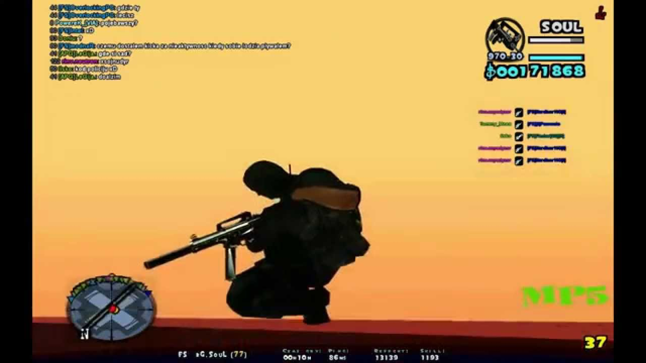 gta sa pack hud guns sounds youtube