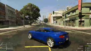 Grand Theft Auto V On PC Online Gameplay